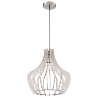 Arnsberg White Wood Pendants