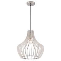 Arnsberg R30253827 Wood 1 Light 24 inch White Pendant Ceiling Light