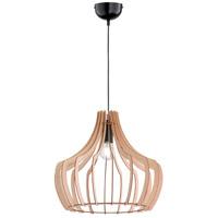 Arnsberg R30253830 Wood 1 Light 24 inch Wood Color Pendant Ceiling Light