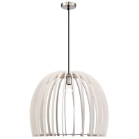 Arnsberg R30256027 Wood 1 Light 24 inch White Pendant Ceiling Light