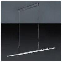 Arnsberg Z2044.1.39 Zeitlos LED 44 inch Charcoal Expandable Linear Pendant Ceiling Light Bankamp L-Lite Line