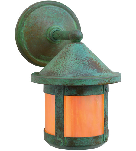 Verdigris Patina Berkeley Outdoor Wall Lights