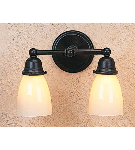 Arroyo Craftsman BS-2-BZ Berkeley 2 Light 12 inch Bronze Bath Vanity Wall Light photo