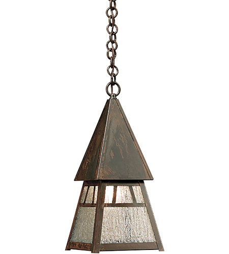 Arroyo Craftsman DH-6RM-BZ Dartmouth 1 Light 8 inch Bronze Pendant Ceiling Light in Rain Mist photo thumbnail