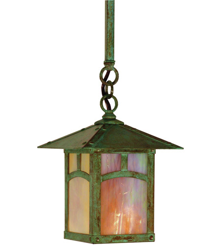 Verdigris Patina Evergreen Pendants
