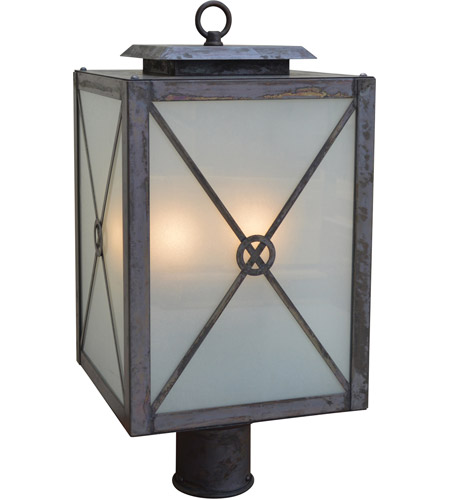 Arroyo Craftsman Slate Exeter Post Lights