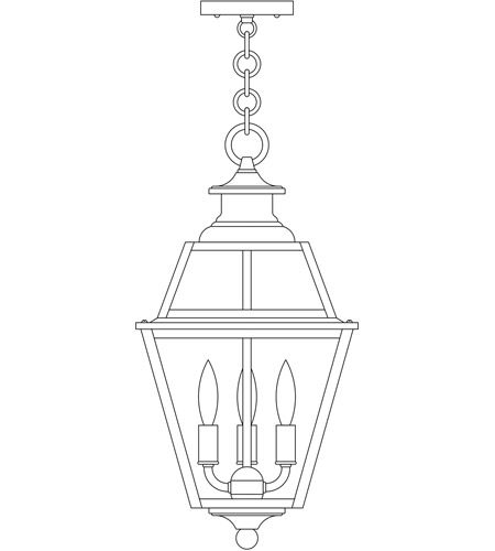 Arroyo Craftsman INH-10GRRM-P Inverness 3 Light 10 inch Pewter Pendant Ceiling Light in Rain Mist photo