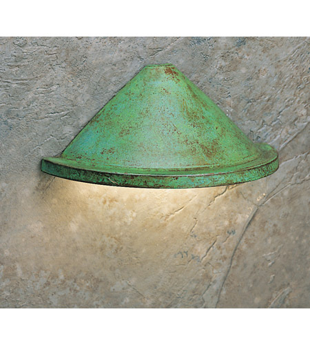 Verdigris Outdoor Wall Lights