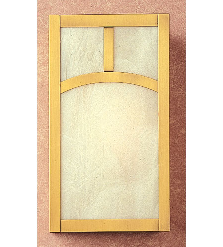 Arroyo Craftsman MS-12AF-MB Mission 1 Light 7 inch Mission Brown Wall Mount Wall Light in Frosted photo thumbnail