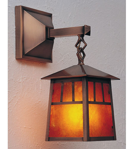 Arroyo Craftsman Antique Copper Wall Sconces