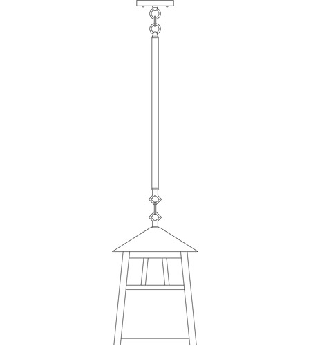 Arroyo Craftsman RSH-10WO-BK Raymond 1 Light 10 inch Satin Black Pendant Ceiling Light in White Opalescent