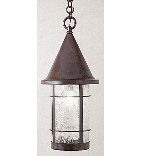 Arroyo Craftsman VH-11RM-BZ Valencia 1 Light 11 inch Bronze Pendant Ceiling Light in Rain Mist