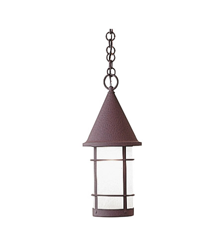 Arroyo Craftsman VH-7RM-BZ Valencia 1 Light 7 inch Bronze Pendant Ceiling Light in Rain Mist