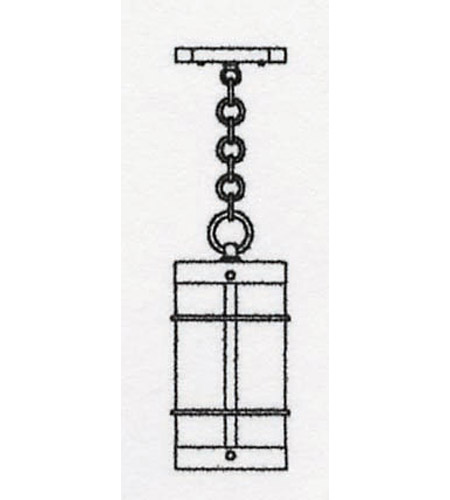 Arroyo Craftsman VH-7NRRM-P Valencia 1 Light 5 inch Pewter Pendant Ceiling Light in Rain Mist VH-7NR_line.jpg