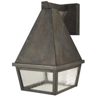 Arroyo Craftsman ANB-6CS-MB Anfield 1 Light 6 inch Mission Brown Wall Mount Wall Light