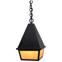 Arroyo Craftsman ANH-8CS-RC Anfield 1 Light 8 inch Raw Copper Pendant Ceiling Light