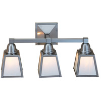 A-Line 3 Light 21 inch Pewter Wall Mount Wall Light