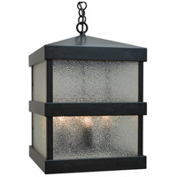 Arroyo Craftsman BAH-12DD-BZ Barcelona 4 Light 12 inch Bronze Outdoor Pendant