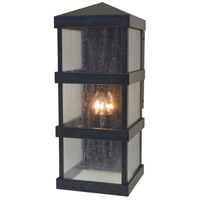 Arroyo Craftsman BAW-10CS-BZ Barcelona 3 Light 24 inch Bronze Outdoor Wall Lantern