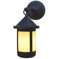 Arroyo Craftsman BB-6F-N Berkeley 1 Light 13 inch Nickel Outdoor Wall Mount in Frosted