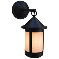 Satin Black Outdoor Wall Lights