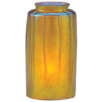 Arroyo Craftsman BG-GLD Signature Gold Glass 2 inch Glass Shade