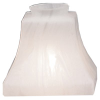 Arroyo Craftsman BG-STS Signature White Marble Glass 2 inch Glass Shade