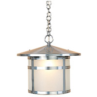 Arroyo Craftsman BH-14F-P Berkeley 1 Light 14 inch Pewter Pendant Ceiling Light in Frosted