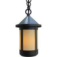 Arroyo Craftsman BH-6TN-AB Berkeley 1 Light 6 inch Antique Brass Pendant Ceiling Light in Tan