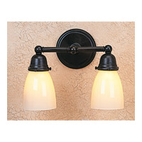 Arroyo Craftsman BS-2-BZ Berkeley 2 Light 12 inch Bronze Bath Vanity Wall Light photo thumbnail