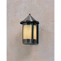 Berkeley 1 Light 8 inch Antique Copper Wall Mount Wall Light in Gold White Iridescent