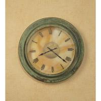 Arroyo Craftsman Pasadena Clock in Verdigris Patina C140-M2GW-VP