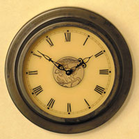 Arroyo Craftsman Pasadena Clock in Bronze C140-M5TN-BZ