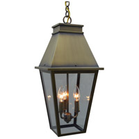 Arroyo Craftsman CRH-10CLR-BK Croydon 3 Light 10 inch Satin Black Pendant Ceiling Light in Clear