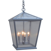 Devonshire 4 Light 13 inch Pewter Outdoor Pendant
