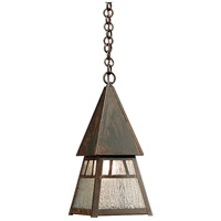 Arroyo Craftsman DH-6RM-BZ Dartmouth 1 Light 8 inch Bronze Pendant Ceiling Light in Rain Mist