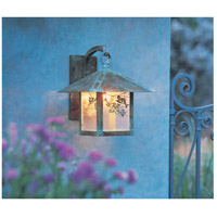 Arroyo Craftsman EB-12ACS-BZ Evergreen 1 Light 12 inch Bronze Wall Mount Wall Light in Clear Seedy alternative photo thumbnail