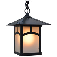 Arroyo Craftsman EH-7AF-BZ Evergreen 1 Light 7 inch Bronze Pendant Ceiling Light in Frosted