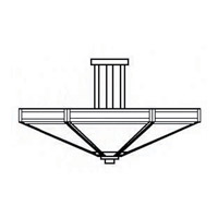Arroyo Craftsman ETCM-21WO-BK Etoile 4 Light 21 inch Satin Black Semi-Flush Mount Ceiling Light in White Opalescent alternative photo thumbnail