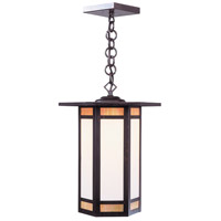Etoile 1 Light 11 inch Bronze Pendant Ceiling Light