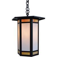 Arroyo Craftsman ETH-14GWC-BZ Etoile 1 Light 14 inch Bronze Pendant Ceiling Light