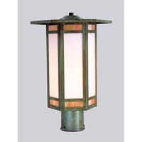 Etoile 1 Light 16 inch Bronze Post Mount