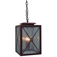 Arroyo Craftsman EXH-9CS-RC Exeter 2 Light 9 inch Raw Copper Pendant Ceiling Light