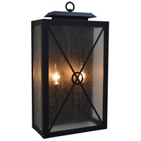 Arroyo Craftsman EXS-12CS-BK Exeter 2 Light 12 inch Satin Black Sconce Wall Light