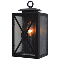 Arroyo Craftsman EXS-6CS-BK Exeter 1 Light 6 inch Satin Black Sconce Wall Light
