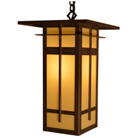 Arroyo Craftsman FIH-10LTN-MB Finsbury 1 Light 10 inch Mission Brown Pendant Ceiling Light in Tan