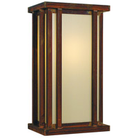 Arroyo Craftsman GLS-9OF-RC Glencoe 1 Light 9 inch Raw Copper Wall Mount Wall Light in Off White