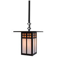 Arroyo Craftsman GSH-9GWC-BZ Glasgow 1 Light 9 inch Bronze Pendant Ceiling Light