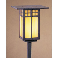 Arroyo Craftsman Glasgow 1 Light Pathway Light in Mission Brown GSP-9GW-MB
