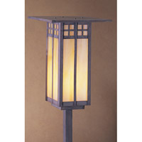 Arroyo Craftsman GSP-9LGW-MB Glasgow 100 watt Mission Brown Landscape Light in Gold White Iridescent photo thumbnail